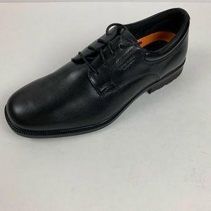 Rockport Black Leather Walkabilty Lace Oxford Shoe